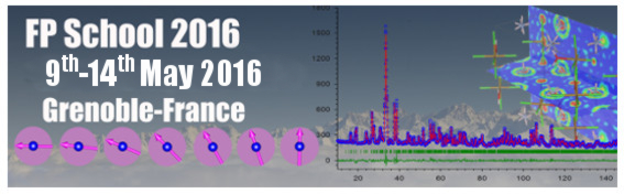 9th ILL Annual School on Neutron Diffraction Data Treatment using the FullProf Suite