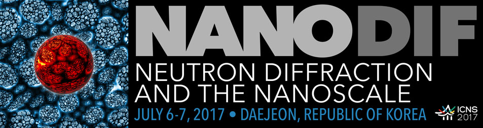 NanoDif 2017: Neutron diffraction and the nanoscale